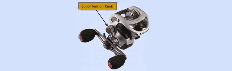 spool-tension knob
