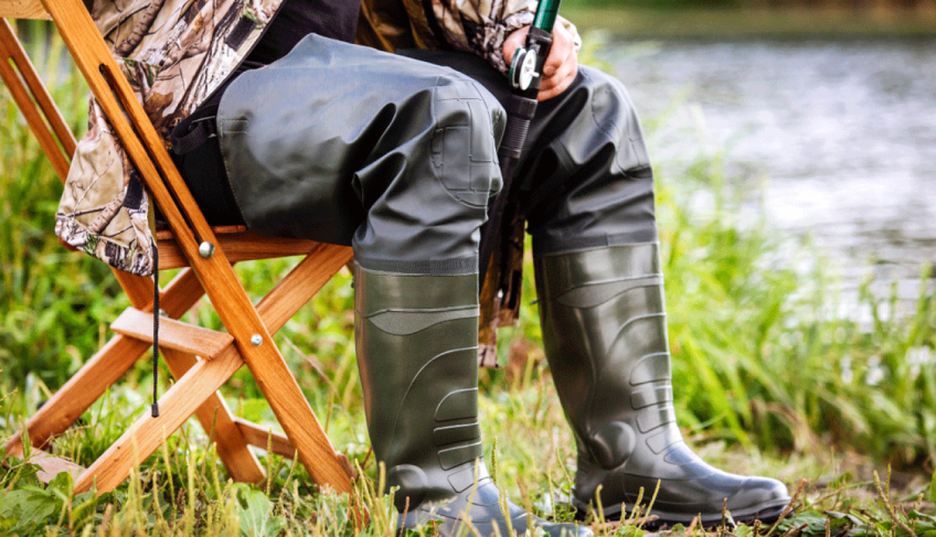 How to clean fishing boots