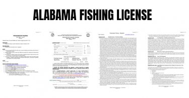 Alabama fishing license