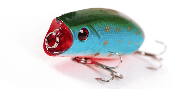 use fishing lure