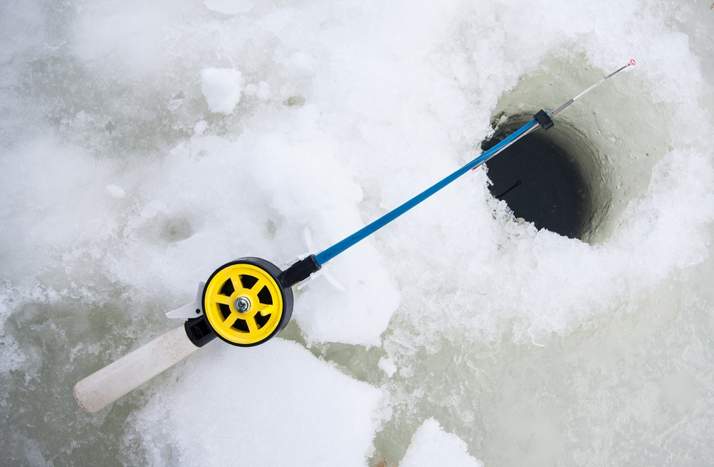 best ice fishing rods; reels, combo, heavy, for sale, walleye