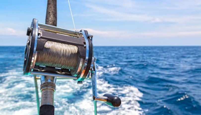how to use a trolling reel