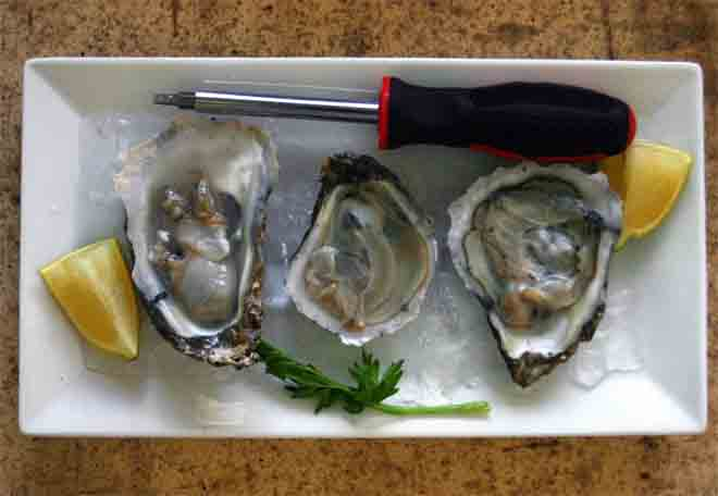 oyster without oyster knife